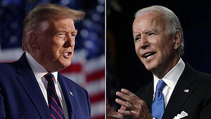 Eleições EUA: Biden está 11 pontos à frente de Trump, aponta pesquisa