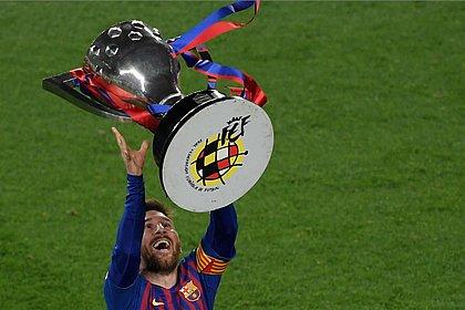 Messi conquista o décimo título espanhol da carreira