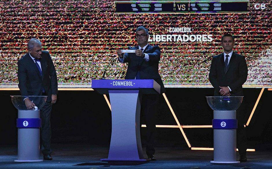 Sorteio define os grupos da Copa Libertadores