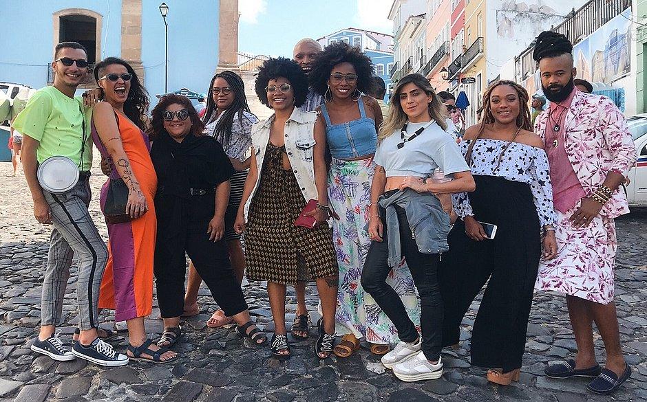 Participantes do reality show Salvador Fashion Race, que estreia na segunda quinzena de novembro