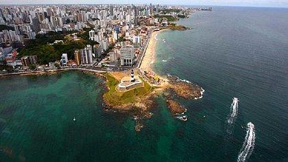 Salvador é um dos principais destinos turísticos do país