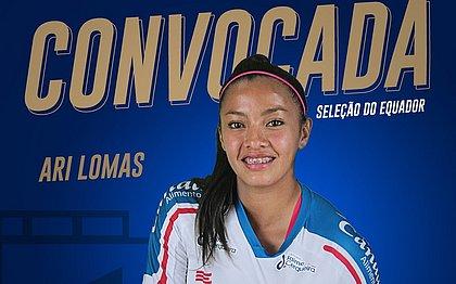 Ariana Lomas foi convocada pela seleção do Equador