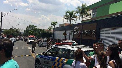 Atirador mata ao menos 2 e fere 4 alunos em escola particular de Goiânia