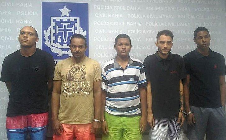 Quadrilha é presa acusada de sete homicídios em Mata de São João
