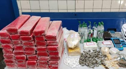 Homem em liberdade provisória é preso com 27 kg de drogas em Jequié