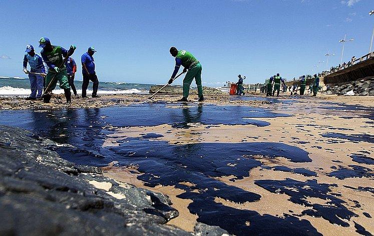 óleo no nordeste