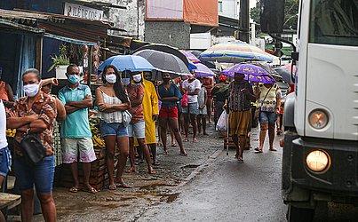 Moradores de São Caetano não estão respeitando as regras do isolamento mais rígidas.