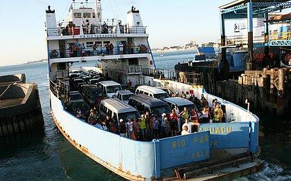 Travessia Salvador-Mar Grande é suspensa por causa da maré baixa