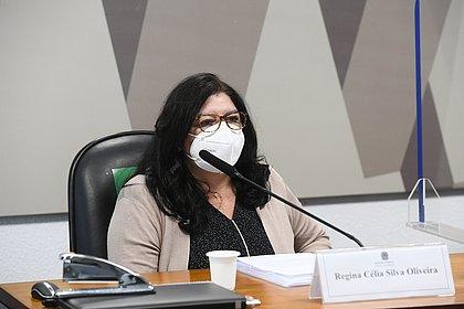 Regina Célia diz que irmãos Miranda não disseram verdade sobre Covaxin