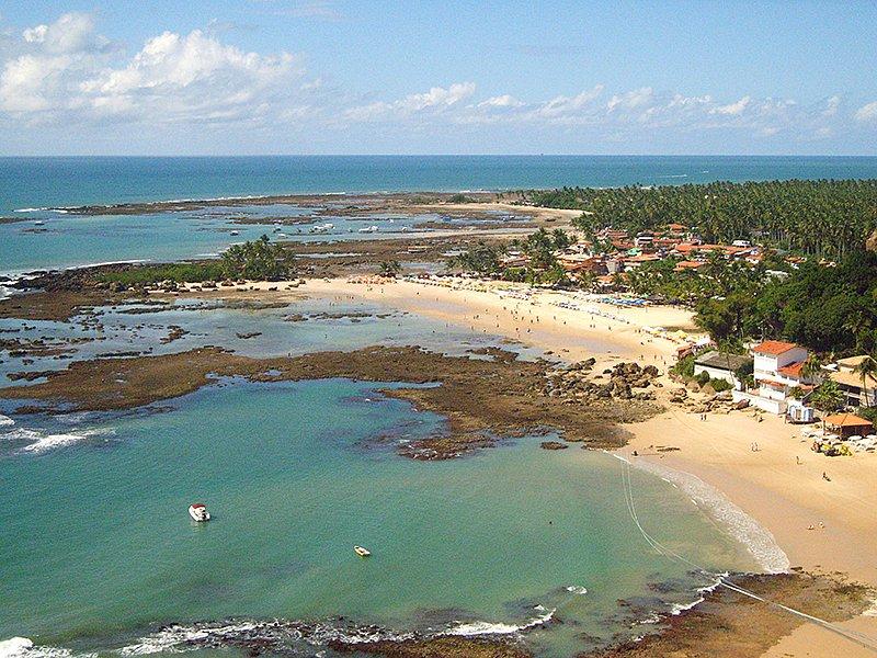Sem caso da covid-19, Morro de São Paulo mantém praias fechadas