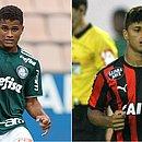 Yan hoje brilha no Palmeiras, mas surgiu no Vitória
