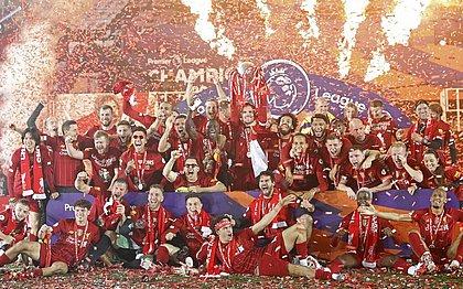 O Liverpool é o atual campeão inglês