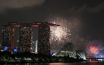 Comemoração do 53º Dia Nacional de Singapura