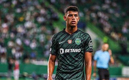 Matheus Nunes em ação pelo Sporting: jogador preferiu defender a seleção de Portugal