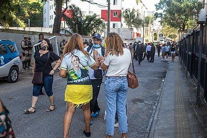 Bolsonaro movimenta rua do Costa Azul durante convenção da Assembleia de Deus