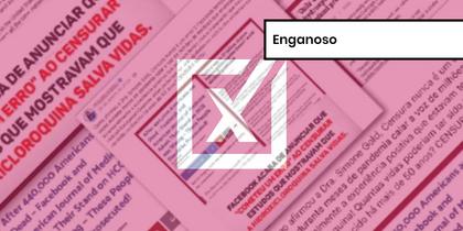 Facebook restaurou post sobre hidroxicloroquina, mas mantém política de remoção de desinformação sobre a covid-19