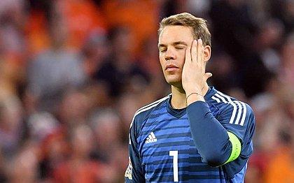 Machucado, Neuer não vai vestir a camisa do Bayern nas próximas duas semanas