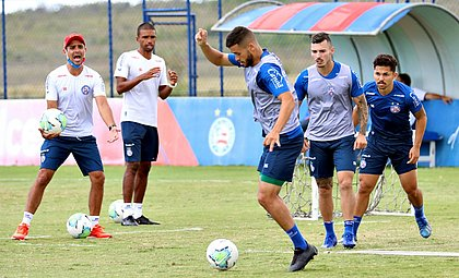 Bahia voltou aos treinos na Cidade Tricolor de olho no confronto com o Sport