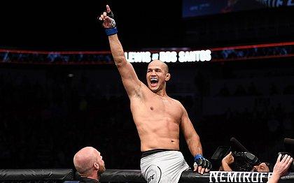 Com infecção bacteriana, Junior Cigano não lutará no UFC Moscou