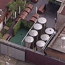 Imagem aérea da fábrica da Backer