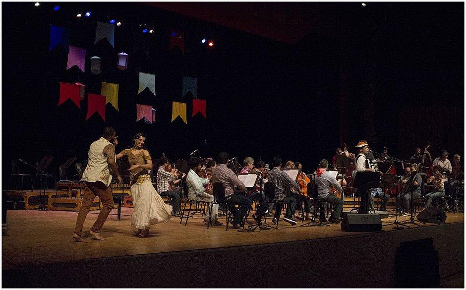 Orquestra Sinfônica da Bahia realiza concerto tradicional de São João