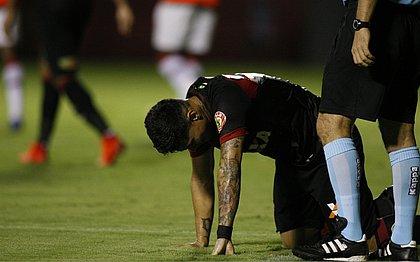 Léo Ceará lamenta chance perdida no Barradão