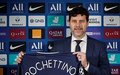 Pochettino assinou com o PSG até junho de 2022