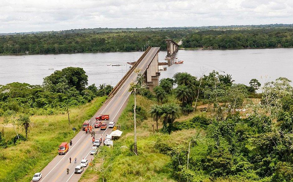 Governo do Pará retoma buscas por desaparecidos no Rio Moju