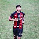 Léo Ceará lamentou o empate sem gols do Vitória com a Ponte Preta