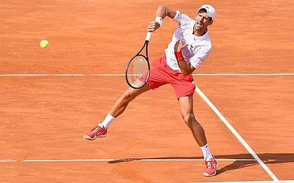 Sérvio irá para sua 10ª final do Masters 1000 de Roma