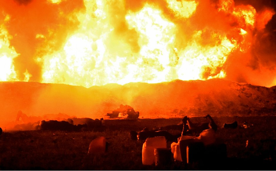 México: furto a duto de gasolina provoca incêndio e mata 20 pessoas