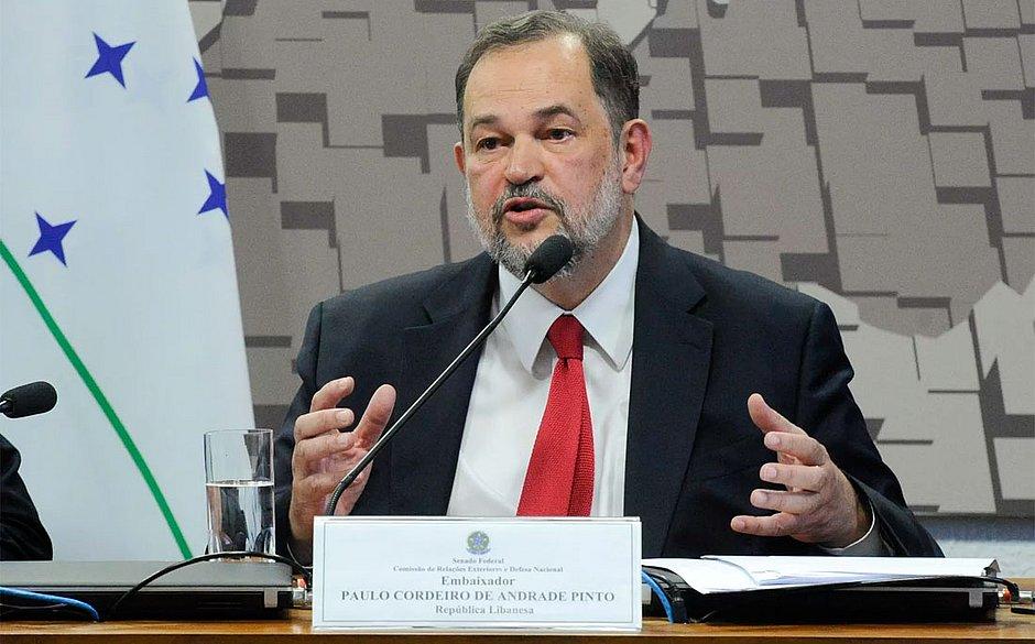 Rui Costa lamenta morte do embaixador do Brasil no Líbano