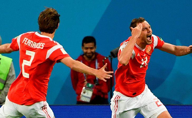 Rússia vence Egito e fica perto da vaga nas oitavas de final