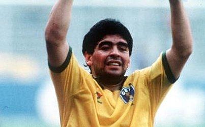 O jogo foi vencido pela Argentina por 1x0. Após o fim da partida, Maradona vestiu a camisa do Brasil