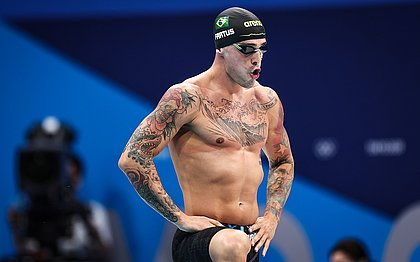 Bruno Fratus está na final dos 50 metros livre