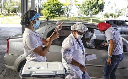 Covid-19: Salvador tem cerca de 5 mil pessoas vacinadas neste fim de semana