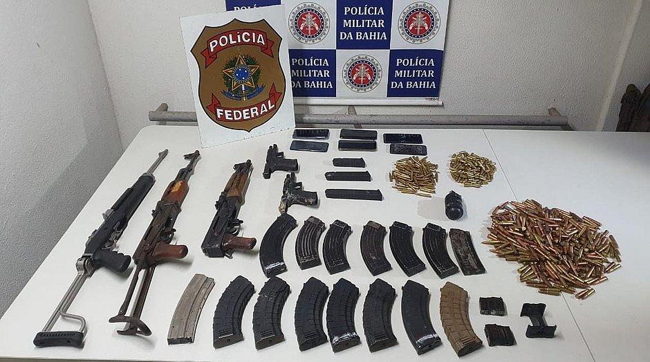 Quatro assaltantes de banco morrem em confronto com a polícia na Bahia