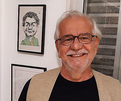 O autor Luís Pimentel