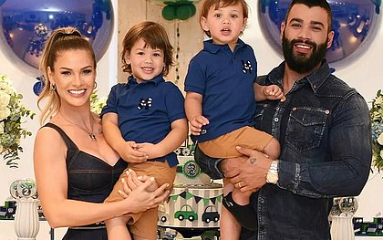 Gusttavo Lima vai pagar R$ 56,5 mil de pensão para Andressa Suita e os dois filhos