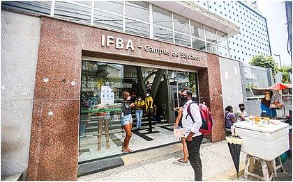 Movimento foi tranquilo na frente do IFBA