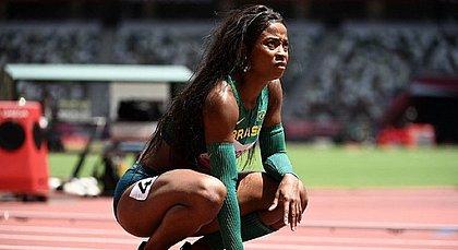 Vitoria Rosa lamenta a eliminação na prova dos 200m livre nos Jogos de Tóquio