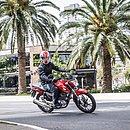 A Honda CG 160 é a moto mais emplacada na Bahia neste ano. A versão mais barata é a Fan, que custa R$ 10.810