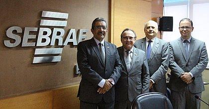 Nova diretoria do Sebrae foi reeleita ontem por unanimidade