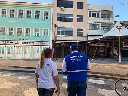 Força-tarefa interdita 27 estabelecimentos em Itapuã e no Rio Vermelho