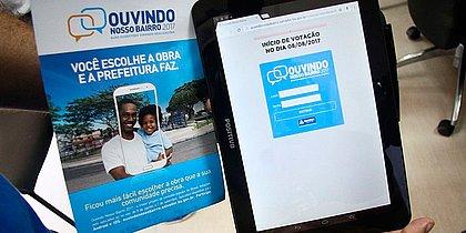 Cidadão tem até quinta (7) para votar nas obras que deseja para seu bairro