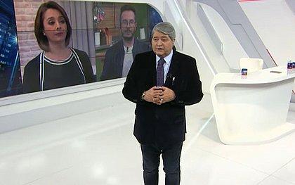 O apresentador José Datena agradeceu à equipe médica do Hospital Sírio Libanês