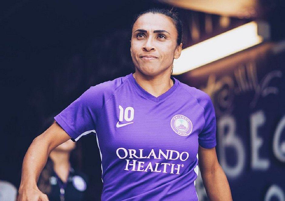 Marta renova com o Orlando Pride, dos EUA, por mais uma temporada