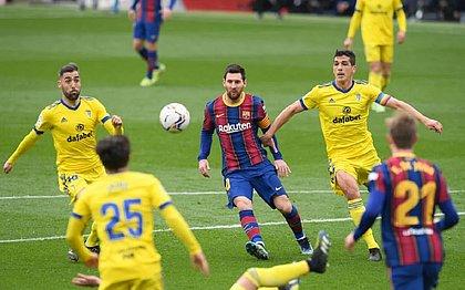 Barcelona ficou no 1x1 com o Cádiz