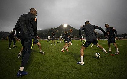 Jogadores da seleção brasileira vão treinar na Granja Comary para a final da Copa América