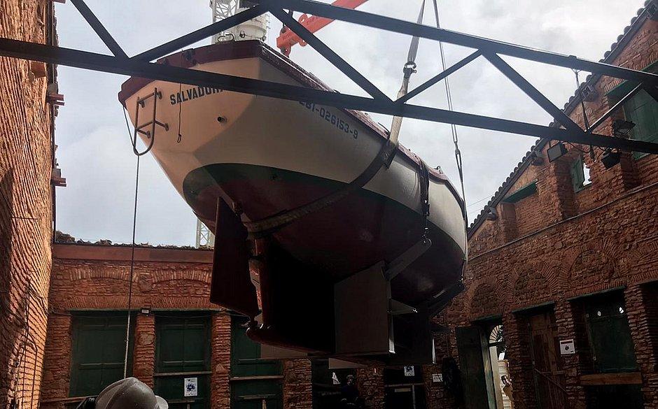 Barco Três Marias já está no Santo Antônio Além do Carmo